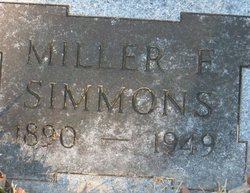 Miller Frederick Simmons