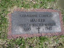 Geraldine <i>Corrigan</i> Mahler