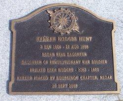 Hannah <i>Hodges</i> Hunt