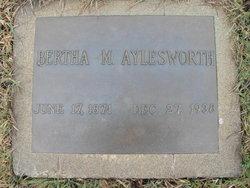 Bertha M. <i>Bunnell</i> Aylesworth