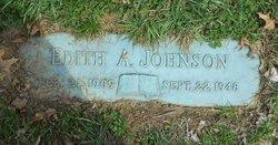 Edith A. <i>Bowermaster</i> Johnson