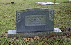 Emma Jane <i>Newton</i> Burleson