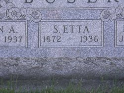 Susan Etta <i>Follick</i> Buser
