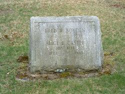 Alice E <i>Castle</i> Boyden