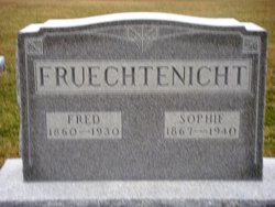 Sophie Marie Christine Lisette <i>Scheumann</i> Fruechtenicht