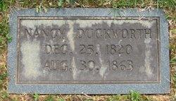 Nancy Ann <i>Garren</i> Duckworth