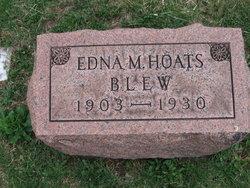 Edna M <i>Hoats</i> Blew