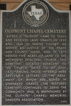 Oliphint Chapel Cemetery