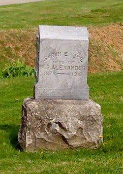 Sarah E. <i>Dye</i> Alexander