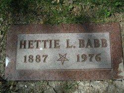 Hettie L. Daisy <i>Neptune</i> Babb