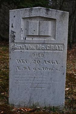 Rev William McGray