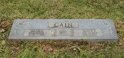 Nancy Elizabeth <i>Scruggs</i> Cain