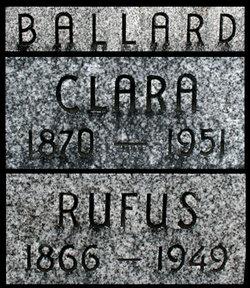 Clara <i>Clark</i> Ballard