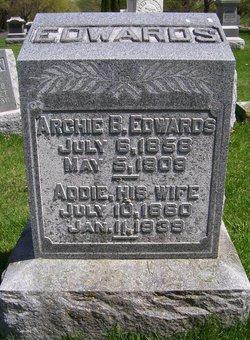 Addie C. <i>Knowles</i> Edwards