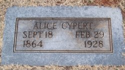 Mrs Alice <i>Freeman</i> Cypert
