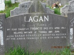 Mrs Frances <i>Donnelly</i> Lagan