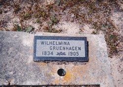Wilhelmina Rosalie <i>Ploetz</i> Gruenhagen