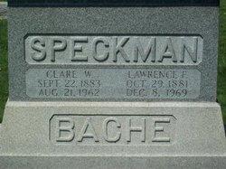 Clare Wiley <i>Bache</i> Speckman