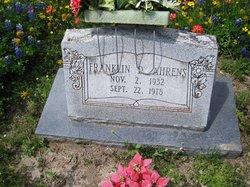 Franklin D. Ahrens