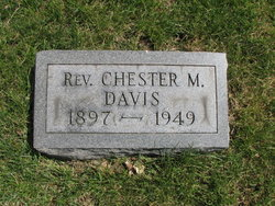 Rev Chester M Davis
