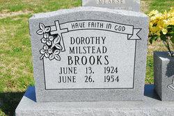 Dorothy Dimple <i>Milstead</i> Brooks
