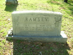 Mary Etta <i>Rose</i> Ramsey