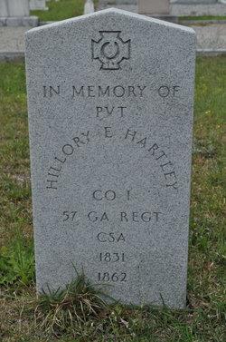 Pvt Hillory E. Hartley