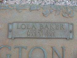 Lola <i>Baker</i> Brasington