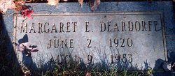 Margaret Edith <i>Davis</i> Deardorff