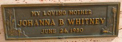 Johanna B. Whitney
