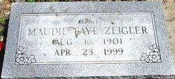 Faye Maudie <i>Debo</i> Zeigler