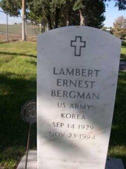 Lambert Ernest Bergman