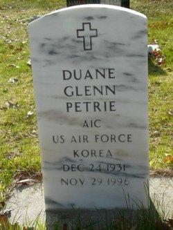 Duane Glenn Petrie