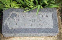 Viola <i>Cobb</i> Allen