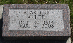 Dr William Arthur Allee