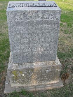 Mary Elizabeth <i>Kiphart</i> Anderson