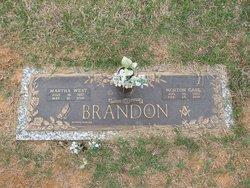 Martha <i>West</i> Brandon