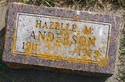 Hazelle M Anderson