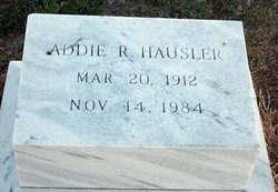 Adalene R. Addie <i>James</i> Hausler