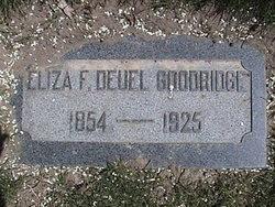 Eliza Francis <i>Deuel</i> Goodridge