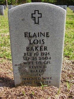 Elaine Lois <i>Chazotte</i> Baker