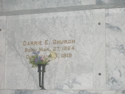 Carrie E. Church