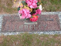 Mary G. <i>Alford</i> Langley