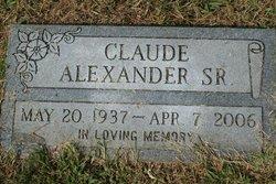 Claude Alexander, Sr