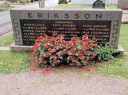 Amanda Gustafva Mandi <i>Gustafsson</i> Eriksson