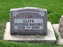 Olive <i>Hughes</i> Barnes