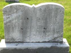 Elizabeth Caroline <i>Leaman</i> Blair