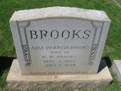 Ada <i>Parrish</i> Brooks