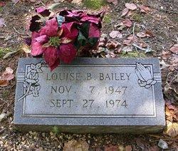 Louise B Bailey