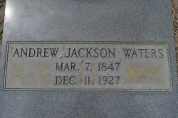Andrew Jackson Uncle Jack Waters